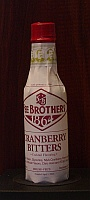 Click for a larger picture of Fee Brothers Cranberry Bitters