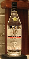 Click for a larger picture of Kalishnikov Vodka