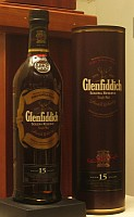 Click for a larger picture of Glenfiddich 15 year-old Scotch