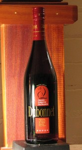 Bottle of Dubonnet Red