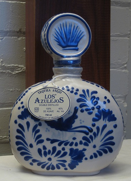 What Is Stainless Steel Made Of >> Los Azulejos Anejo Tequila | Spirits Review