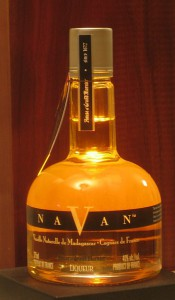Bottle of Navan Liqueur