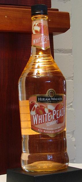 White Peach Schnapps Hiram Walker Spirits Review