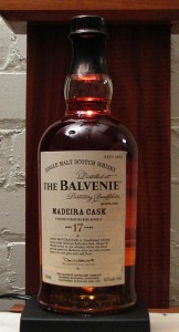 Bottle of Balvenie 17 Year Old Madiera Aged