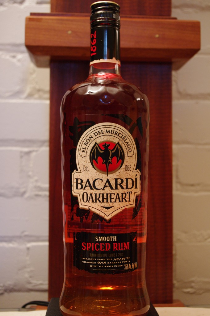 Bacardi Oak Heart Spiced Rum Spirits Review