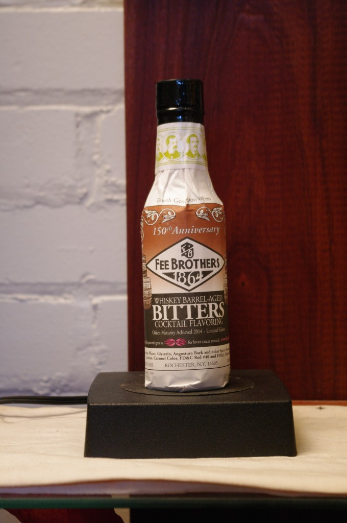 Fee Brothers Whiskey Barrel Aged Bitters 2014 Release