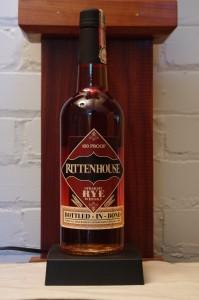 Bottle of Rittenhouse Rye