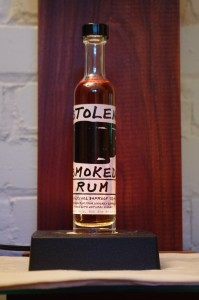 Bottle of Stolen Smoked Rum