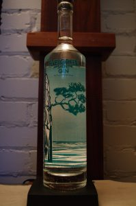 Bottle of Lakeward Spirits Evergreen Gin