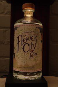 Bottle of Flower City Gin