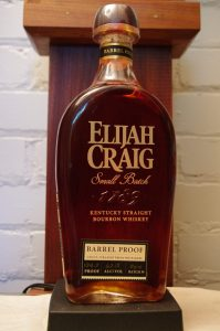 Bottle of Elijah Craig Barrel Proof 124.2