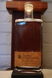 Bottle of Gin No.1 by Detroit Distilling