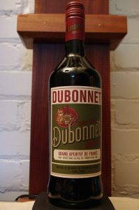 Bottle of Dubonnet