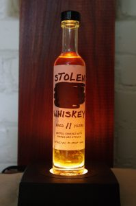 Bottle of Stolen Whiskey