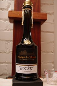 Bottle of Chateau du Breuil Calvados 20 Year Old