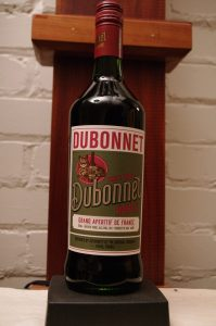Bottle of Dubonnet Rouge 2019