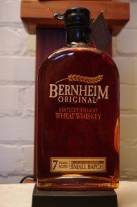 Bottle of Bernheim Original Kentucky Straight Wheat Whiskey 7 Year Old