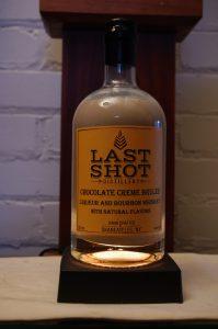 Bottle of Last Shot Chocolate Creme Brûlée