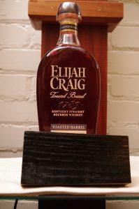 Bottle of Elijah Craig Toasted Barrel With Char # 1 Stave