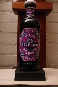 Bottle of Starlino Vermouth