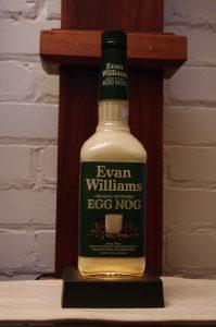 Bottle of Evan Williams Original Southern Egg Nog