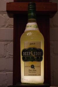Bottle of Deep Eddy Lime Vodka