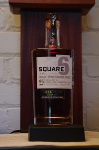 Bottle Of Square 6 Whiskey by Evan Williams